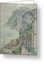 Capri, 1897  Greeting Card