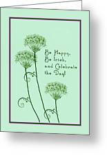 Card For St. Patrick's Day Greeting Card