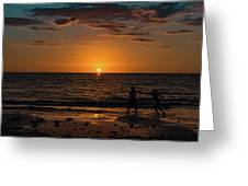 Carefree Days Of Summer Greeting Card