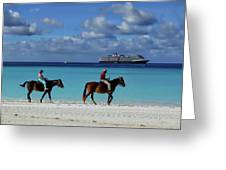 Caribbean Dream Greeting Card