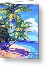 Caribbean Paradise Greeting Card