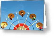 Carnival Fan Greeting Card