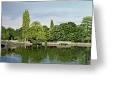 Carshalton Ponds Greeting Card