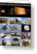 Castillo De San Marcos National Monument Greeting Card