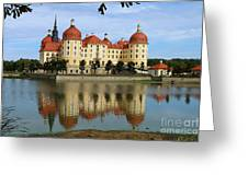 Castle Moritzburg  Greeting Card