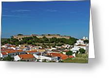 Castro Marim Village And Medieval Castle Greeting Card
