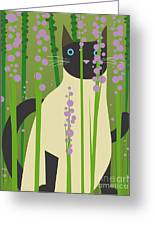 Cat Look 4 Greeting Card