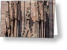 Cathedral Chimera Greeting Card