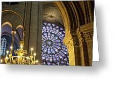 Cathedrale Notre Dame De Paris Greeting Card by Brian Jannsen