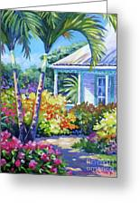 Cayman Yard Greeting Card