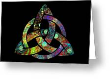 Celtic Triquetra Or Trinity Knot Symbol 3 Greeting Card
