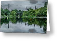 Central Park Reflections Greeting Card