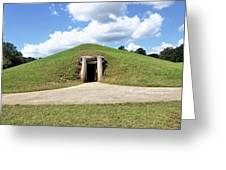 Indian Mound At Ocmulgee National Monument 1 Greeting Card