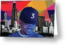Chance Chicago Greeting Card