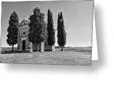 Cappella Di Vitaleta Greeting Card