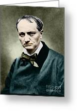 Charles Baudelaire, French Writer, Photo Greeting Card