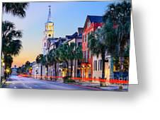 Charleston, South Carolina, Usa Greeting Card