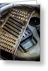 Cheese Grater 33 Greeting Card