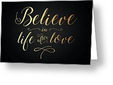 Cher - Believe Gold Foil Greeting Card