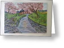 Cherry River Greeting Card