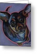 chihuahua Wow Wow Greeting Card