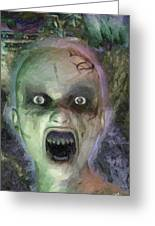 Child Ghost Greeting Card