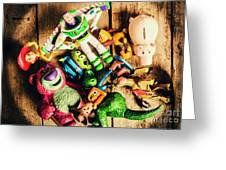 Childhood Collectibles Greeting Card