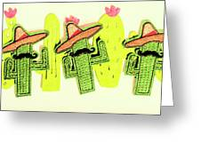 Chili Con Cacti Greeting Card