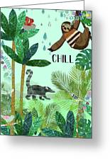 Chill Greeting Card