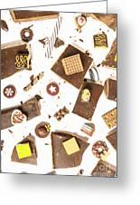 Chocolate Bar Break Greeting Card