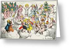 Christmas Fairy Tale Greeting Card