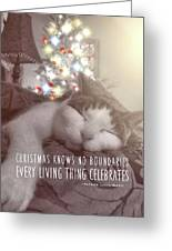 Christmas Nap Quote Greeting Card