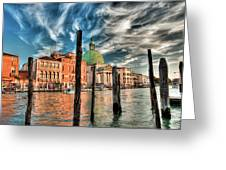 Church Of San Simeone Piccolo, Venice Greeting Card