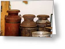 Churns For Milk  2 Greeting Card