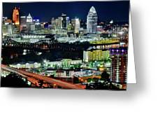 Cinci The Queen City Greeting Card