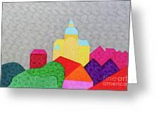 City 1 Greeting Card
