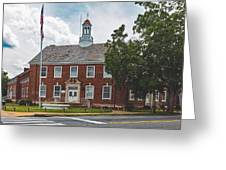 City Hall - Shelby, North Carolina Greeting Card