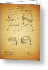 Civil War Military Hat Greeting Card