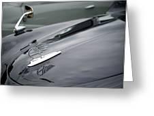 Classic Austin Car Bonnet Badge Greeting Card