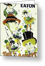 Classic Movie Poster - The Cocoanuts Greeting Card