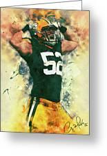 Clay Matthews Greeting Card