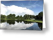 Clear Reflection Greeting Card