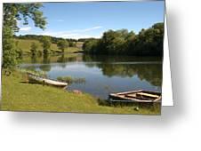 Clerklands Loch, Near Selkirk, Scottish Borders Greeting Card