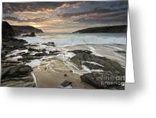 Clogher Strand Dingle Kerry Ireland Greeting Card