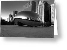 Cloudgate 2 Greeting Card