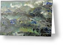 Clouds Before Rain In Summer Greeting Card