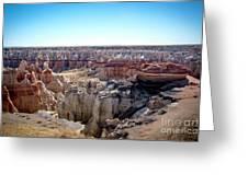 Coal Mine Canyon #2 Greeting Card