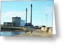 Cockenzie Power Station Greeting Card