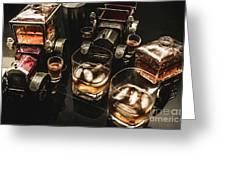 Cognac Cars Greeting Card