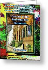 Collectible Dreaming Savannah Book Poster Greeting Card
